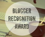 BLOGGER RECOGNITION AWARD